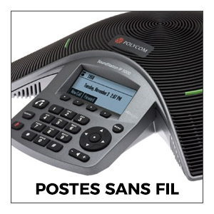 Audioconférence Postes Sans Fil