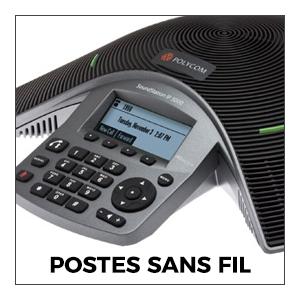 Audioconférence Postes Sans Fil