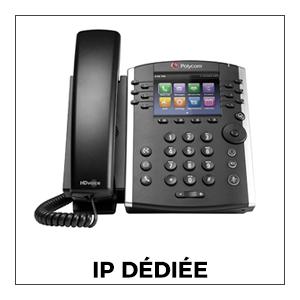 Téléphones IP Dédié