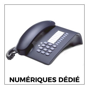 Téléphones Numérique Dédié