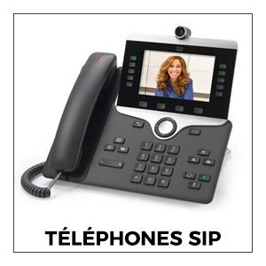 Téléphones SIP