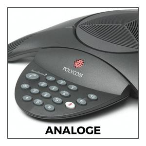 Analoge Vergadertelefoons